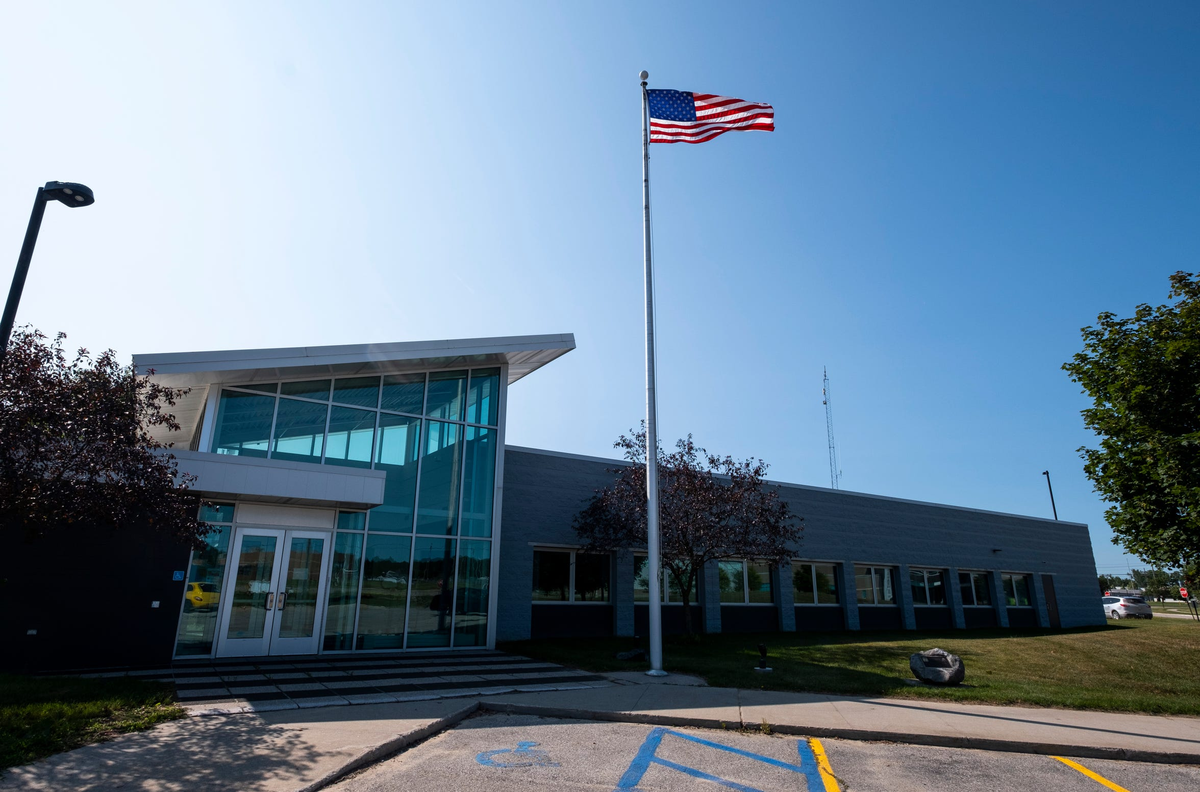 The Marysville fire and police departments moved into the public safety building in 1998.