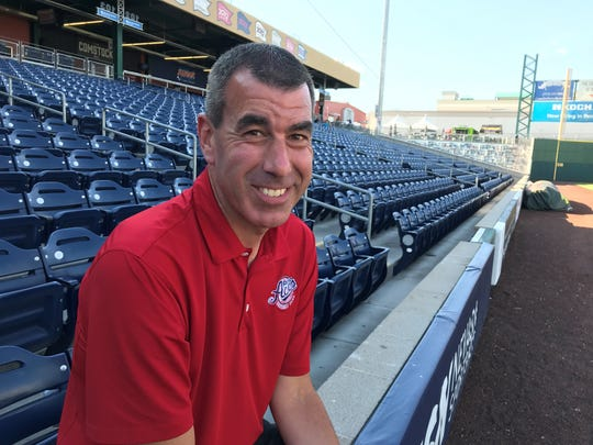Ryan Radtke has been the Reno Aces radio announcer since the team came to town in 2009