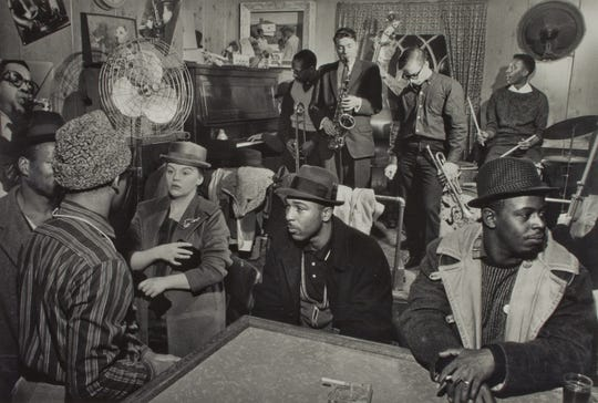 The Pythodd Room, circa 1959.