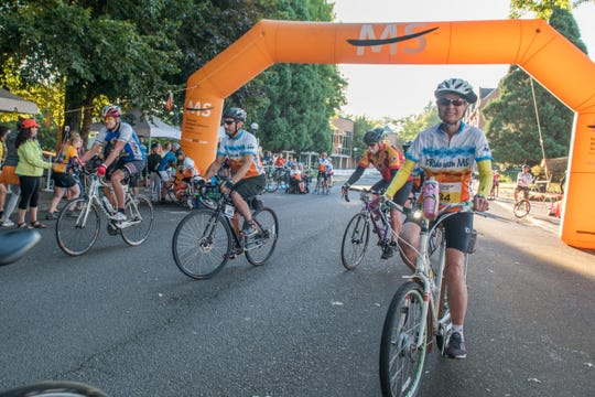 The 35th annual Bike MS: Willamette Valley took place on Aug. 3-4, 2019, in Monmouth, Oregon.