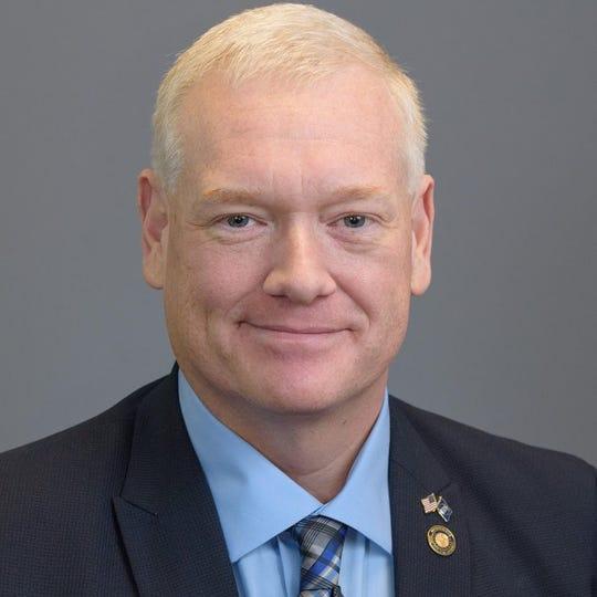 Rep. Paul Evans, D-Monmouth
