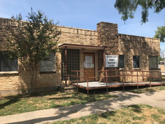 The Tom Green Co. Indigent Health Care Building is located at 19 N. Irving St. in San Angelo.