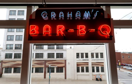 The History Museum on the Square announced it had received a donation of the neon sign that hung outside Graham's Rib Station.