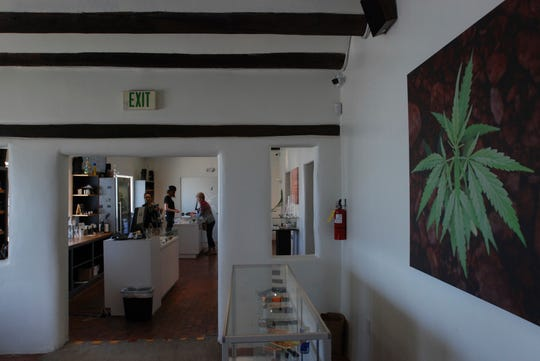 The Minerva medical cannabis dispensary in Santa Fe, New Mexico is shown on Tuesday, June 11, 2019. Licensed Missouri dispensaries are expected to be open in late spring or early summer of 2020.