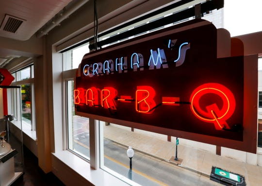 The History Museum on the Square announced it has received a donation of the neon sign that hung outside Graham's Rib Station.