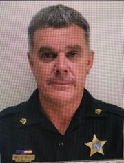 Franklin County Sheriff's Sgt. Jeff Hewitt was named alongside his son as the Law Enforcement Officers of the Year by the Florida Sheriff's Association.