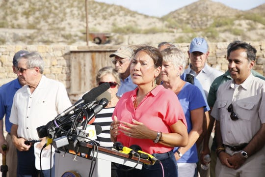 Veronica Escobar, representative for the El Paso area, led her 12th delegation of Congressional lawmakers this week.