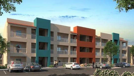 Investment Builders Inc. plans to build the $18.3 million, 104-unit Ridgestone Estates low-income apartment complex at 11050 Montana Ave., in East El Paso.