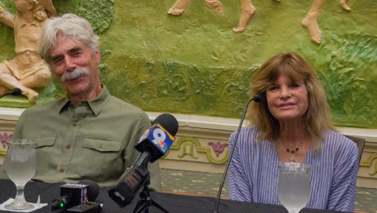 "Academy Award nominee Sam Elliott and his wife Katharine Ross answered questions from the media Friday, August 2. The couple will appear for on-stage interviews before a 50th anniversary screening of ""Butch Cassidy and the Sundance Kid"" at the plaza theater."