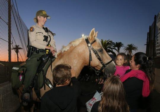 Gilroy On Their Minds Horseback Deputies Patrol County
