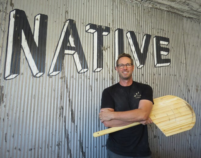 """Scott Tremonti is executive chef and partner at Native Pizza, which opened this week in midtown Ventura. The new restaurant features pizzas on dough made from a blend of organic bread and spelt flours. The result is a """"lighter, healthier crust that doesn't weigh you down,"""" says Tremonti, who also owns The Urban Oven restaurant in downtown Los Angeles."""