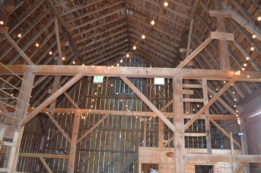 The interior of the 1890s Pheasant Valley Barn.