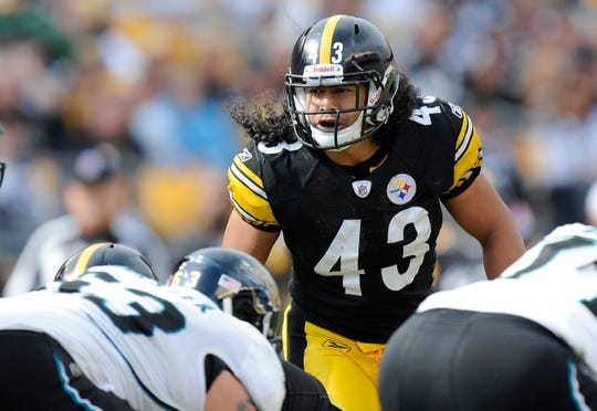Troy Polamalu is the top first-year eligible candidate for the Pro Football Hall of Fame class of 2020.