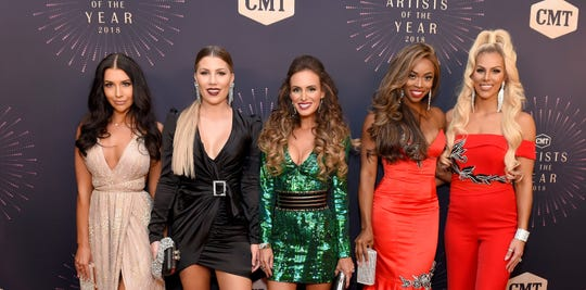 """""""Racing Wives"""" premieres August 3 at 10 p.m. ET on CMT."""
