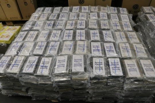 $1 1 billion of cocaine seized in Hamburg, Germany, from Uruguay