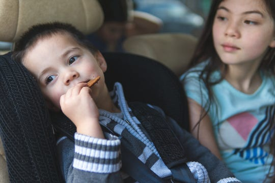 Car snacks help keep the peace on your next road trip.