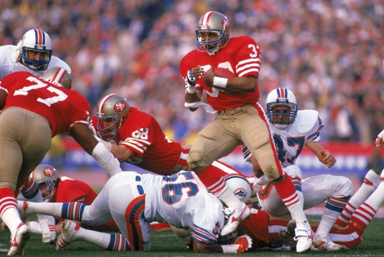 Roger Craig won three Super Bowls with the 49ers.