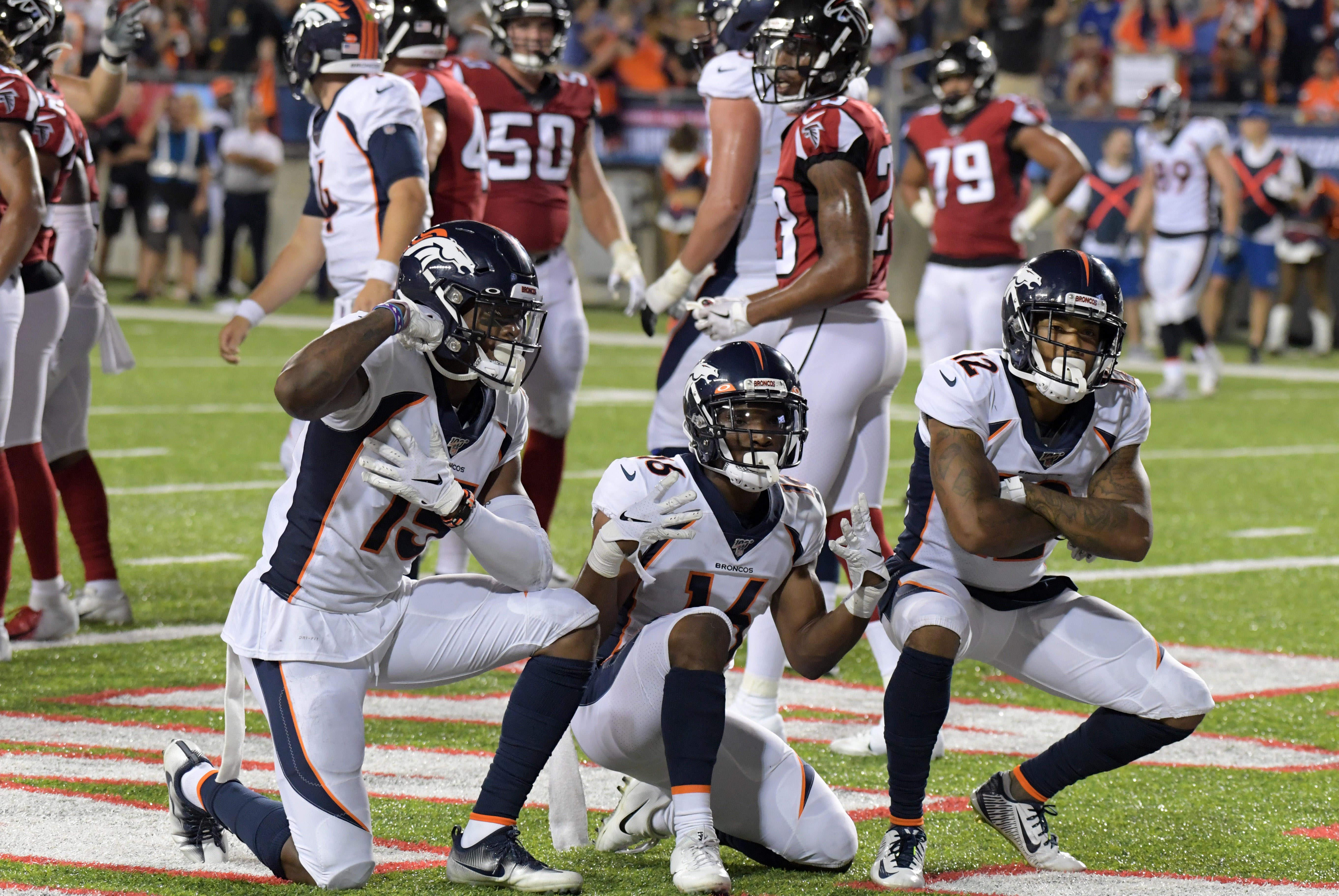 Denver Broncos kick off NFL preseason with win over Atlanta Falcons in Hall of Fame Game