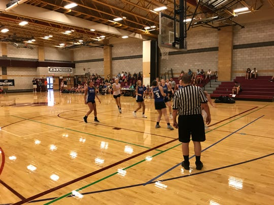 Action from Day 1 of the BCANY Summer Hoops Festival at Johnson City, Aug. 2, 2019.
