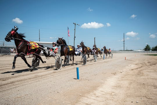 The first day of the Ross County Fair introduced day one of harness racing on August 3, 2019, and will continue Sunday. The races are based on age, sex, and gate.