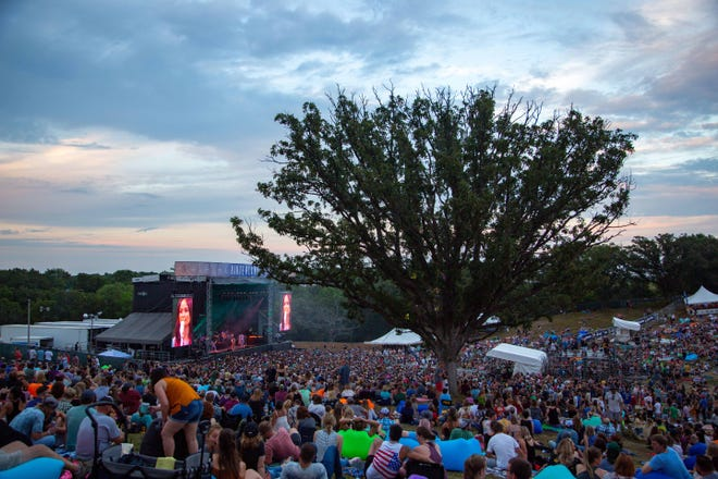 The Hinterland music festival in St. Charles Friday, Aug. 2, 2019.