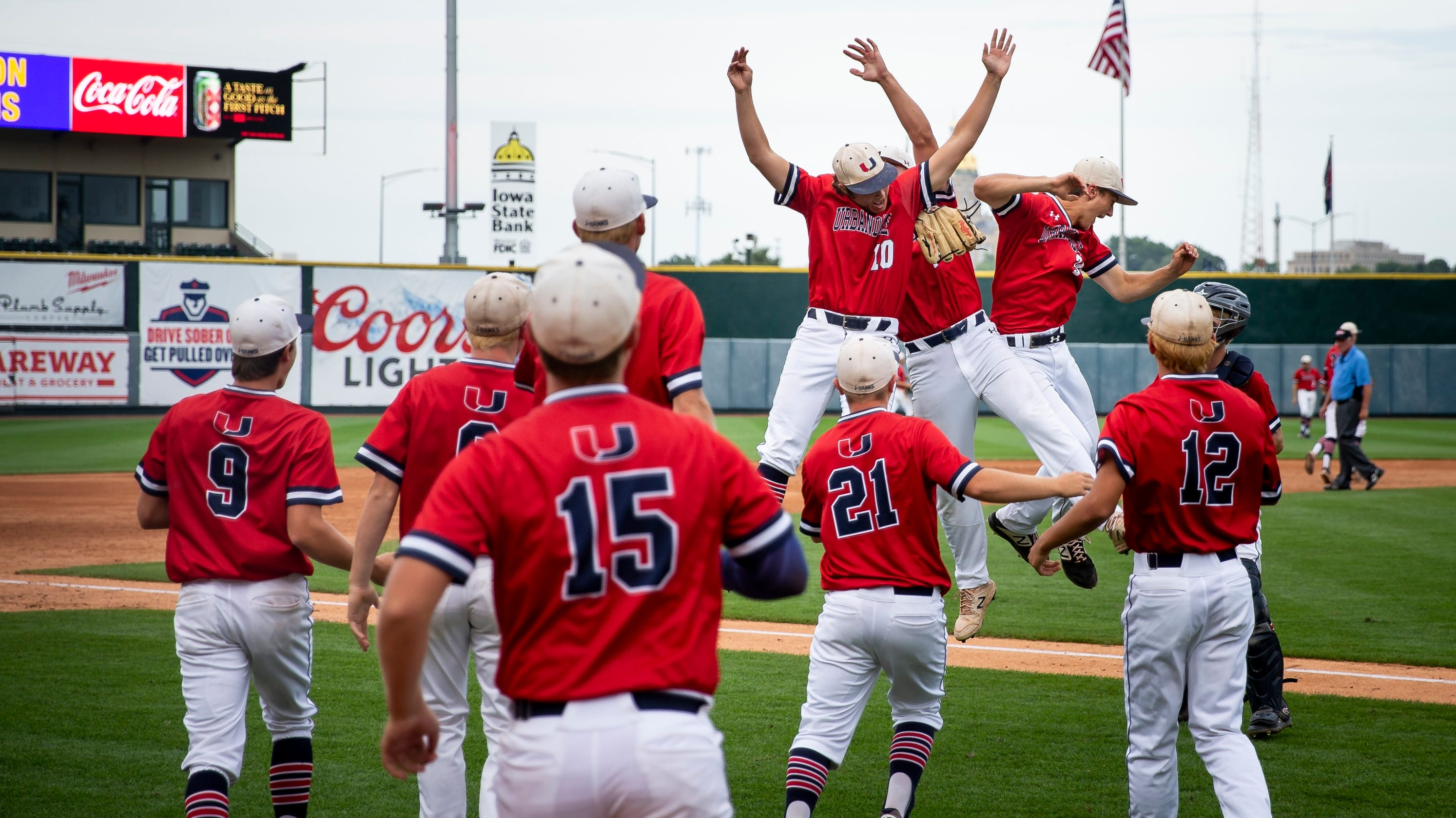 State Baseball: Urbandale drops Iowa City West, reaches Class 4A