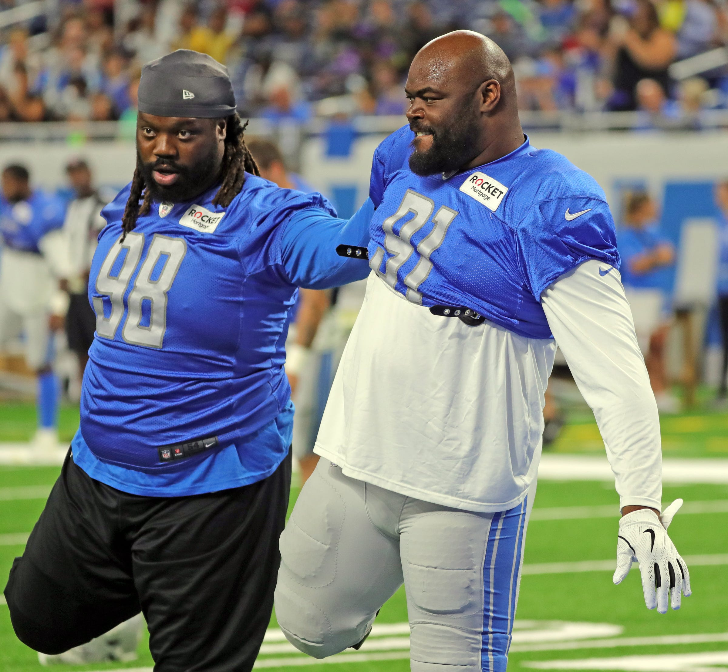 Detroit Lions have talented DL, but team chemistry may take longer than normal