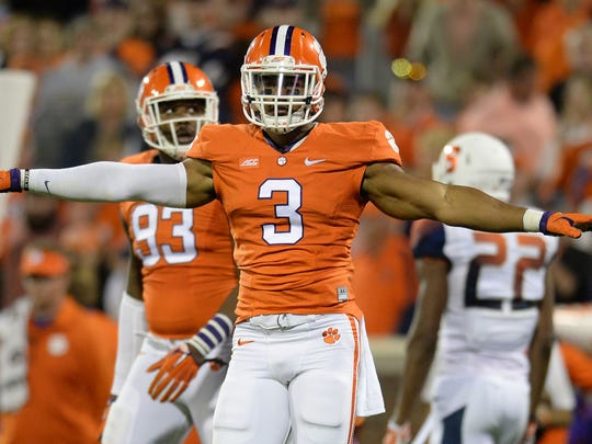 Vic Beasley, who was a running back in high school and a scout team quarterback as a freshman at Clemson, became one of the top defensive ends in school history.