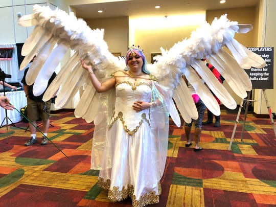 Traci Brooks spent more than 18 hours creating her Princess Celestia costume.