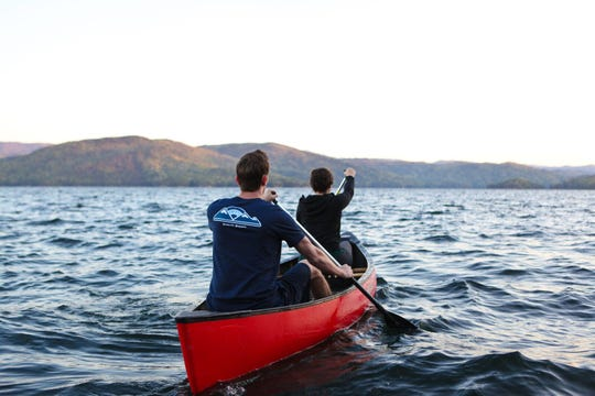 One of the activities offered during an A-GAP retreat is kayaking, but all the activities offered during retreats gets participants away from their phones and other technology to focus on building deeper connections with themselves and others.