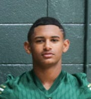 Acadiana High offensive standouts include: Dylan Meaux (51), Lucky Brooks (4), Dillan Monette (1), John Staten (33), Larryl Greene (22) and Keontae Williams (8).