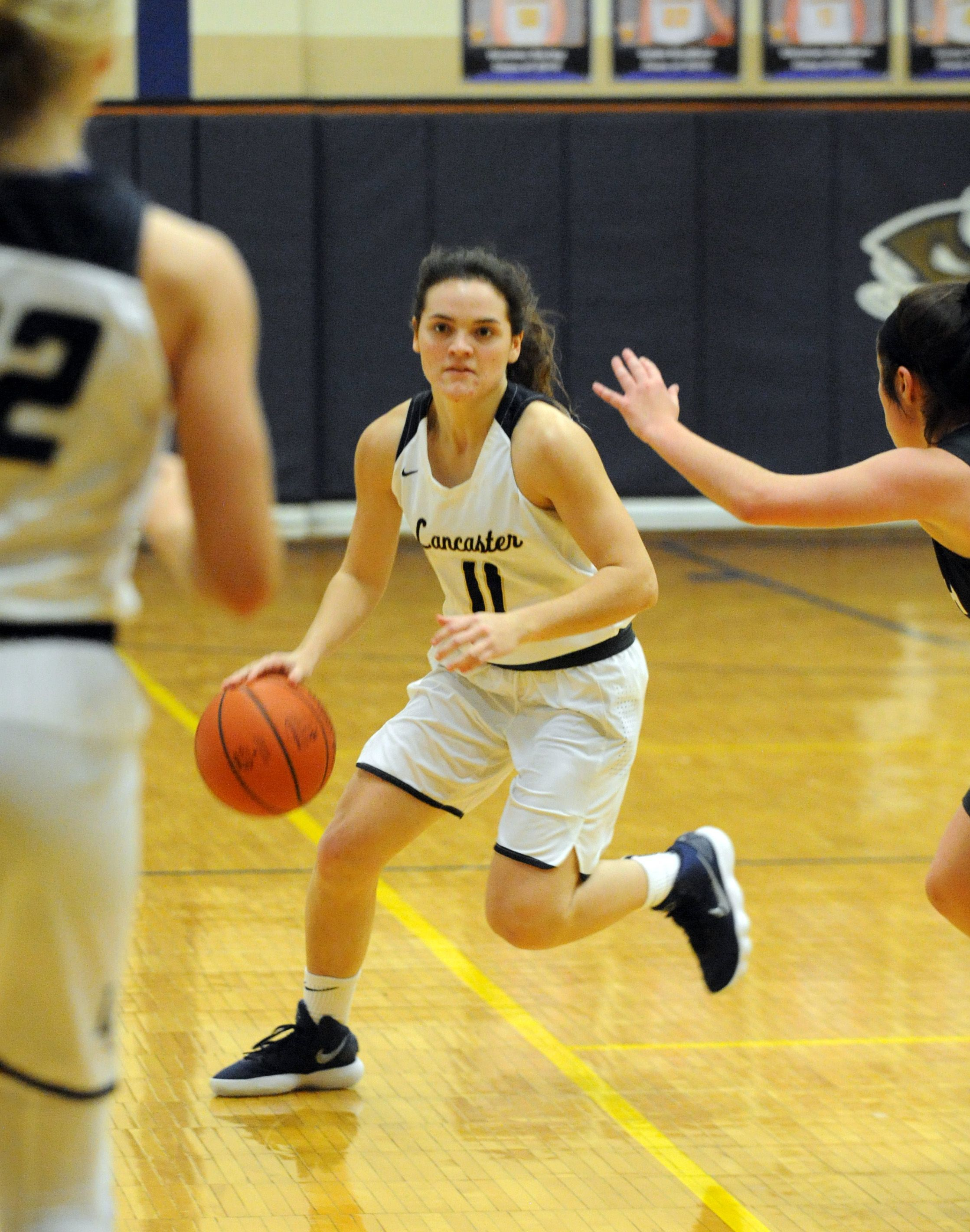 Alexis Matheney was a four-year starter for the Lady Gales' basketball team.