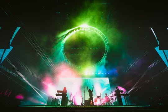 Tame Impala headlines Lollapalooza in Chicago on Aug. 2, 2019.