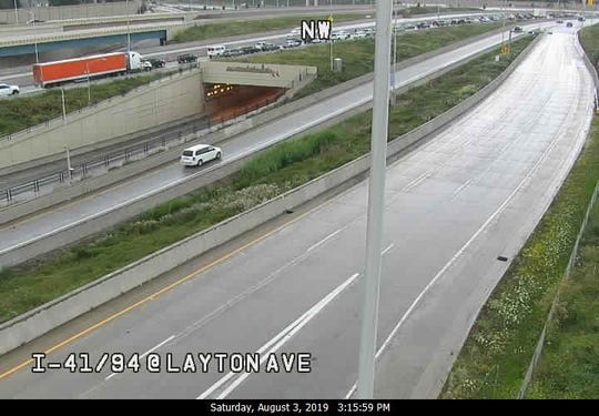 Northbound lanes of I-41/94 in Milwaukee reopened after crash