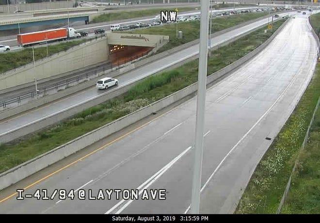 I-41/94 at Layton Avenue
