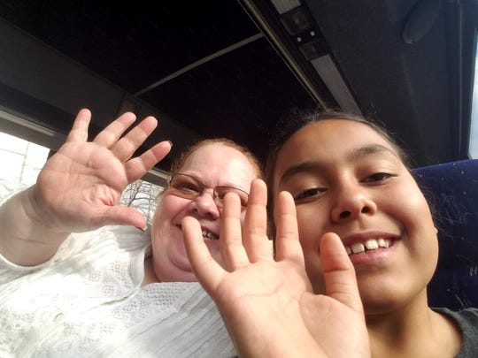 Sheila Eagle, 54, and Nyobee Eagle Richardson, 11, are seen in this photo provided by a family friend. Both died early Friday in a wrong-way crash in Minnesota.