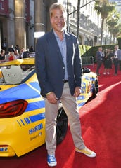 "Racing team owner Will Turner attends the premiere of ""The Art of Racing in the Rain"" on Thursday in Los Angeles."
