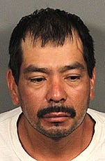 When deputies spoke with Thermal resident Narciso Vargas about a suspected burglary, he became combative and a struggle ensued, the Riverside County Sheriff's Department said.