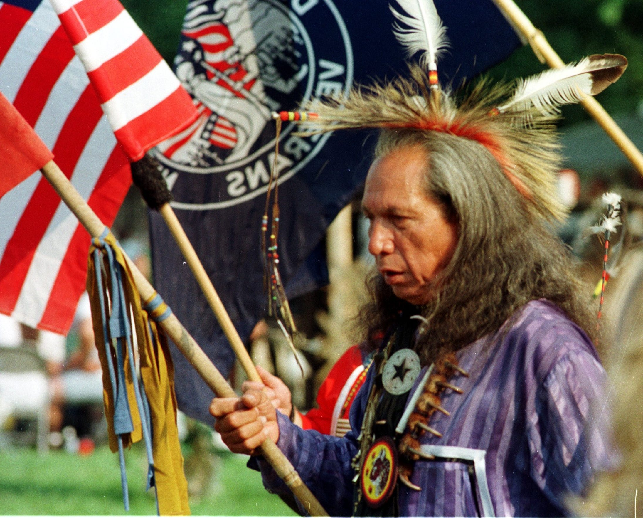 A local powwow in 1997.