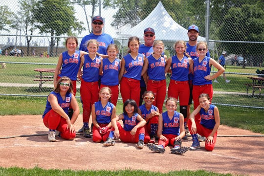 The St. Clair 10-and-under Little League team recently claimed a state championship.