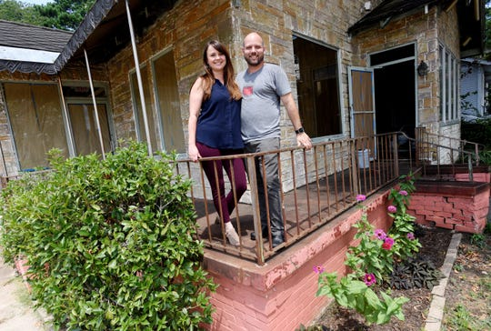 Fat Calf Brasserie is one of the many restaurants in Louisiana forced to end dine-in services. Carryout, delivery, and curbside services are still permitted. Pictured: Chef Anthony Felan and business partner-wife Amanda Felan.