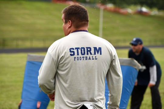 The Staunton Storm have several new opponents on its football schedule this fall.
