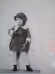 Ilse Loeb when she was a little girl in Vienna.