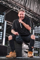 CHICAGO, ILLINOIS - AUGUST 02: NF performs during 2019 Lollapalooza at Grant Park on August 02, 2019 in Chicago, Illinois. (Photo by Erika Goldring/FilmMagic) ORG XMIT: 775383323 ORIG FILE ID: 1165871308