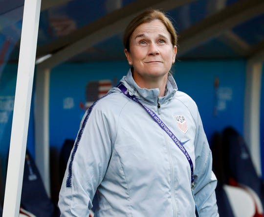 Jill Ellis coached the U.S. Women's National Soccer Team to back-to-back World Cup titles.