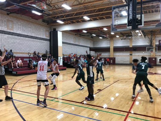 Boys action from Day 2 of BCANY Summer Hoops, Aug. 3, 2019.