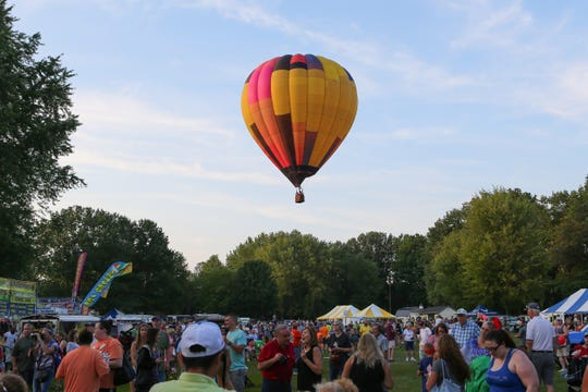 Scenes from the Spiedie Fest on Saturday, August 3, 2019.