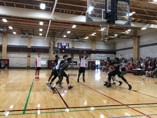 Boys action from Day 2 of BCANY Summer Hoops, Aug. 3, 2019