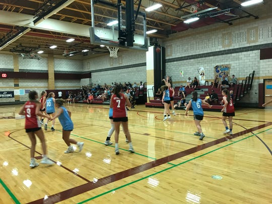 Girls action from Day 2 of BCANY Summer Hoops, Aug. 3, 2019