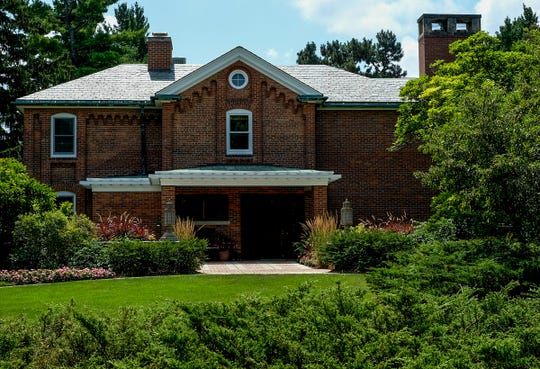 Renovations at the Cowles House on the MSU campus is scheduled for completion in February. Sunday, August 4, 2019.